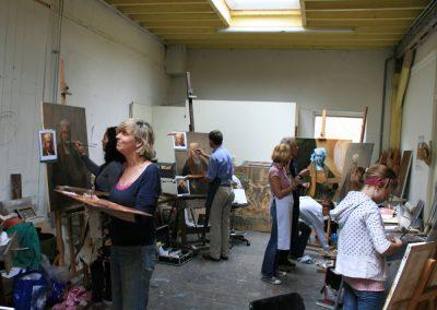 Cursus portretschilderen